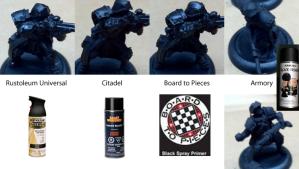 Primer Comparison on miniatures