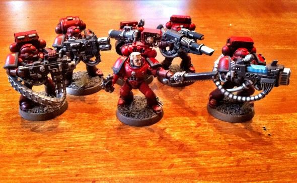 Blood Angels Devastator Squad