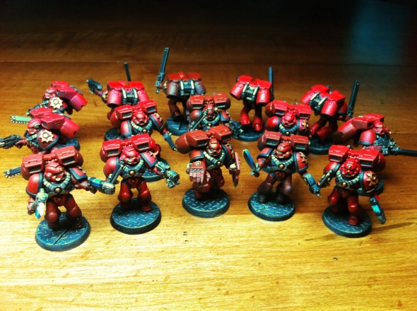 Blood Angels Assault Marines