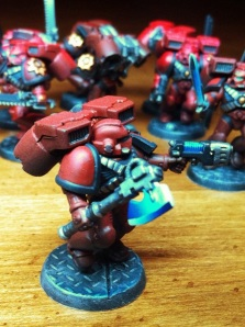 Blood Angels Assault Marine with Power Axe