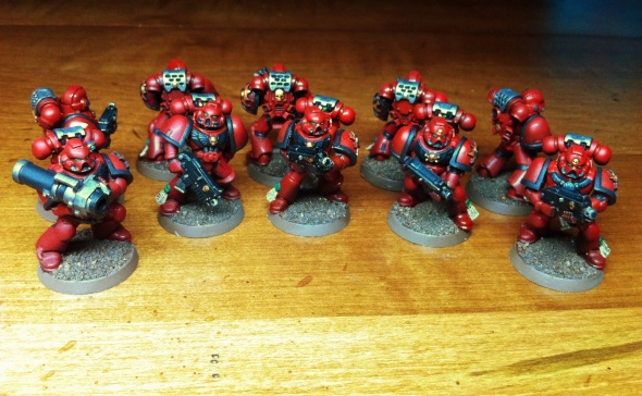 Blood Angels Tactical Squad
