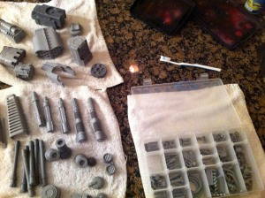Reaver Titan weapon bits cleaning complete