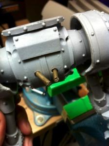Reaver Titan pelvis and hip pins