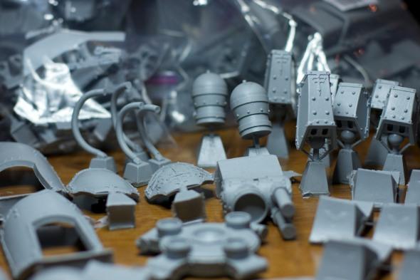 Reaver titan parts