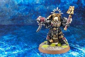 Chaplain in terminator armor by miniaturepainters.com