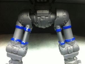 Reaver Titan Legs, masking upper leg pistons