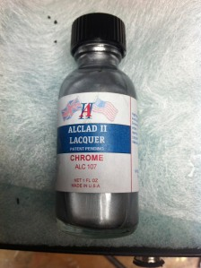 Alclad II chrome lacquer paint