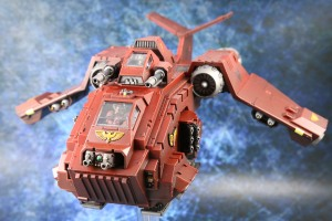 Blood Angels Stormraven front