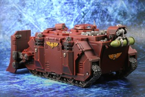 Blood Angels Vindicator Back