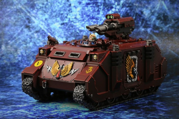 Blood Angels Razorback with Lascannons