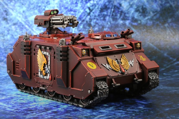 Blood Angels Razorback with Assault Cannon