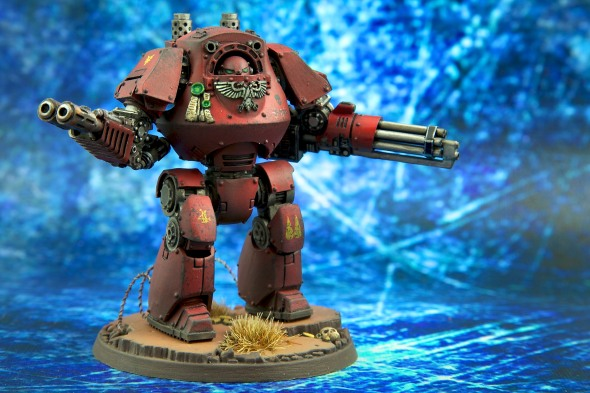 Forgeworld Content Pattern Dreadnought - Blood Angels