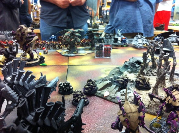 View from the Tyranid swarm