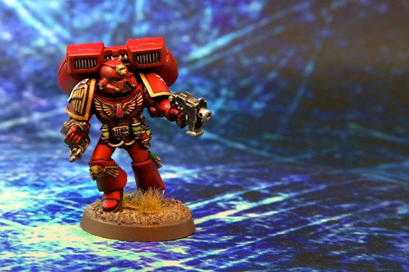 Blood Angels Sanguinary Priest with Jump Pack