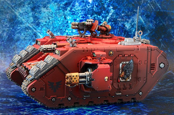 Blood Angels Land Raider Redeemer