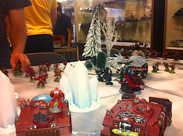 blood angels vs. chaos