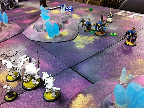 warmachine cygnar vs retribution 20 points
