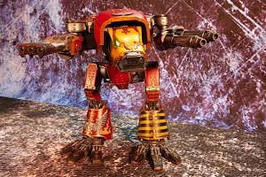 Forgeworld Warhound Titan Saevus Juris with Inferno Cannon and Turbo Laser