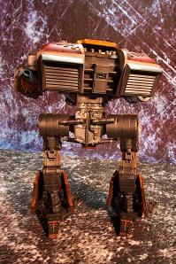 Rear View of Saevus Juris Warhound Titan