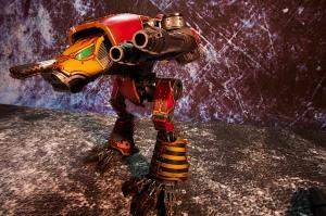 Front / Left view of Saevus Juris Warhound Titan