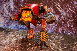 Forgeworld Warhound Titan Saevus Rex with Vulcan Mega Bolter and Plasma Blastgun