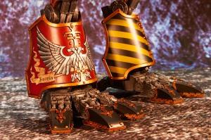 Saevus Rex, Forgeworld Warhound Titan Legs
