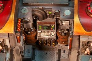 Forgeworld Warhound Titan Reactor Controls