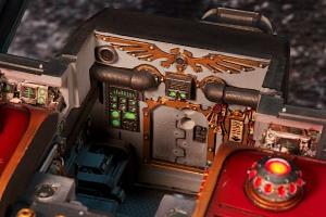 Forgeworld Warhound Titan internal view