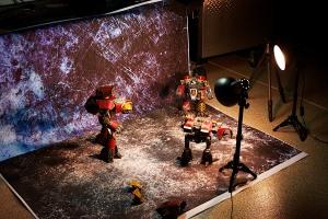 Forgeworld Titans - Studio Behind the scenes shot