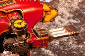 Forgeworld Warhound Titan Mars Pattern Inferno Cannon