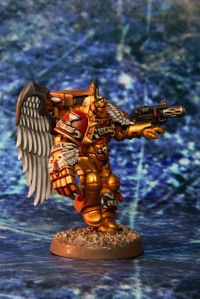 Blood Angels Sanguinary Guard with Power Fist and Infernus Pistol