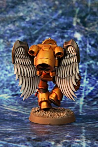 Blood Angels Sanguinary Guard Back View