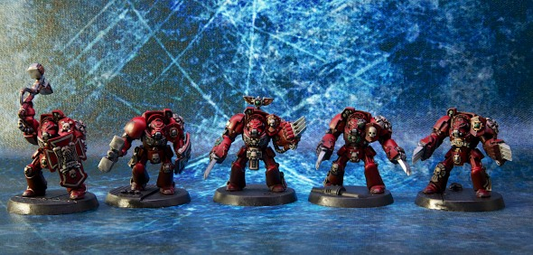 Blood Angels Assault Terminators