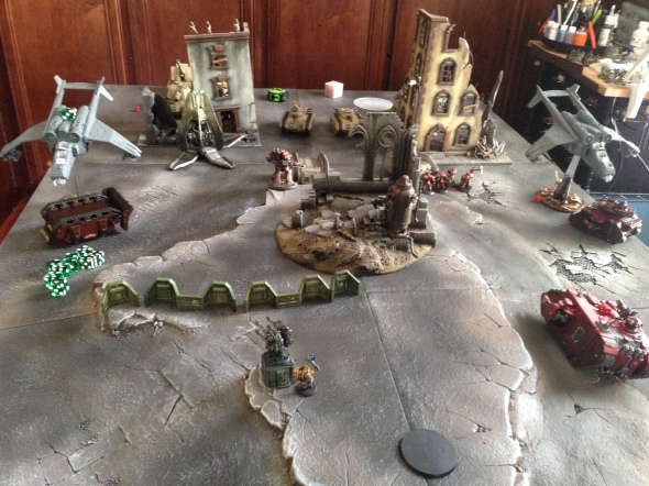 Imperial Guard vs. Blood Angels