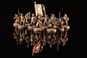 Astra Militarum Cadian Shock Troops Commanders