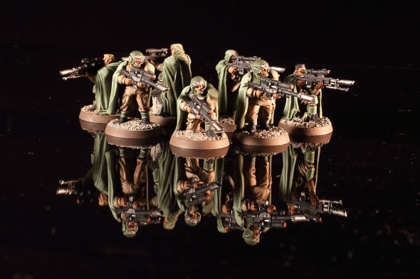 Astra Militarum Cadian Shock Troops Snipers