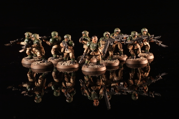 Astra Militarum Cadian Shock Troops
