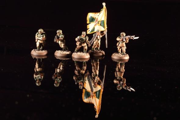 Astra Militarum Cadian Shock Troops