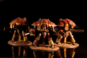 Three Knight Titans of the house Taranis