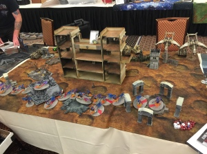 LVO Friendlies Game 1 Chaos Board Edge
