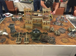 LVO Friendlies Game 1 Astra Militarum Board Edge