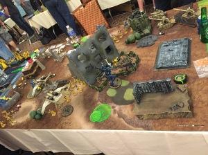 Las Vegas Friendlies Game 4 Astra Militarum Board End