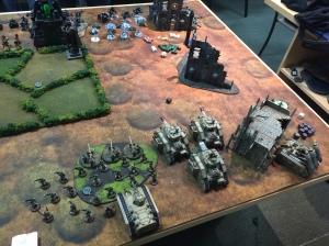 Astra Militarum vs. Necrons 3