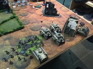Astra Militarum vs. Necrons 1