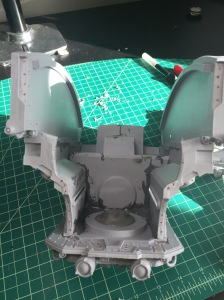 Warlord Titan Torso Front Plate Gluing Prep 3