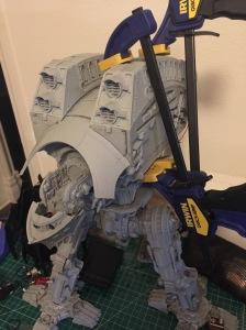 Warlord Titan Exhaust Ridge Clamps