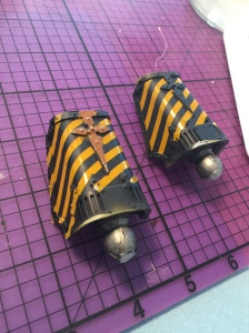 pistons airbrushing complete