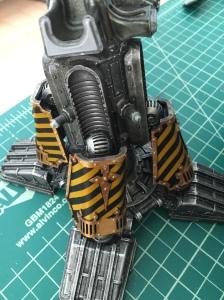 Warlord missaligned piston