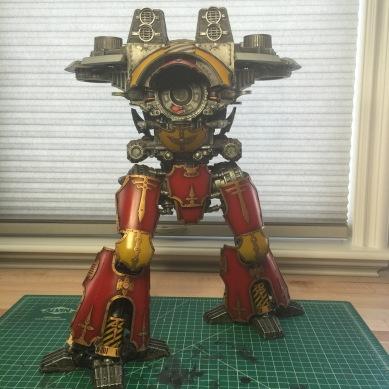 ForgeWorld Warlord Titan overall WIP
