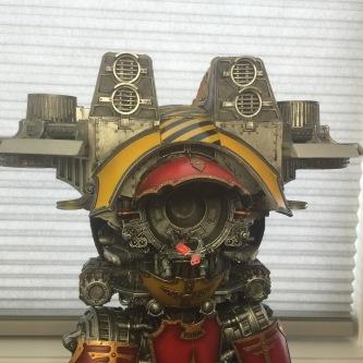 ForgeWorld Warlord Titan Upper Torso WIP